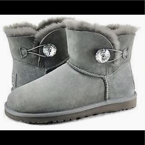cc5cb95506a Ugg Bailey Button Bling Boot - Rare and Like New!
